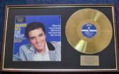 Elvis Presley - Gold Disc  -Jailhouse Rock -To commemorate the 40th Anniversary of Elvis' death